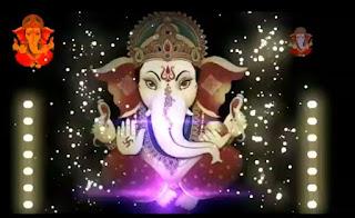 Welcome Ganpanti Bappa Video Status With DJ effect