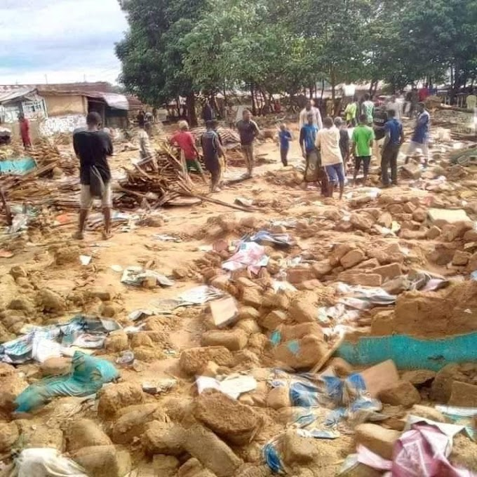 Sex Workers left Stranded as FCT authorities demolish popular Guest inn