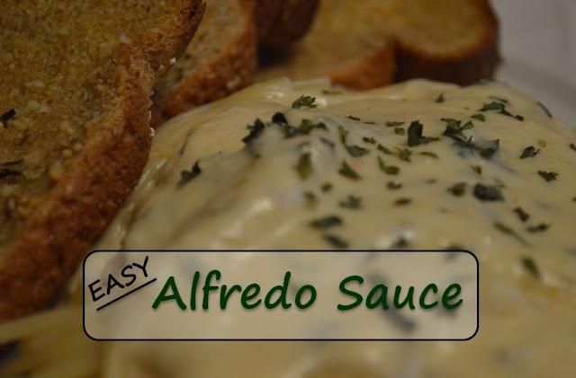 Easy Recipe for Alfredo Sauce