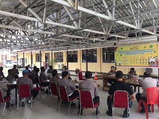 Kapolres Bone Pimpin Rapat Koordinasi Simulasi Sistem Pengamanan Kota