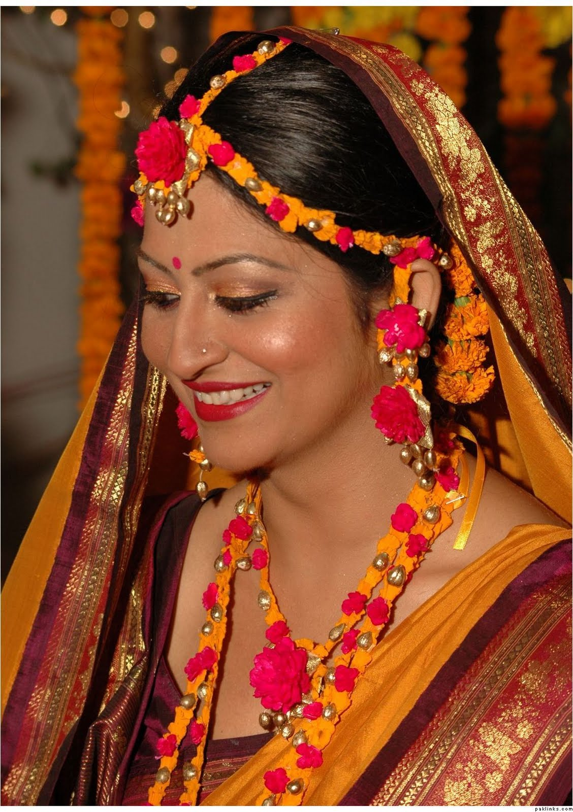 bridal hairstyle bd: projectgamos gr. bengali bride winged eyes