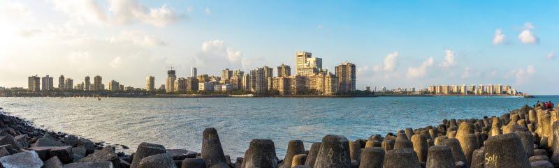 The Mumbai Skyline and its beautiful coastline