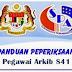 Contoh Soalan & Jawapan Peperiksaan Pegawai Arkib S41
