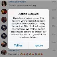 Cara Mengatasi Action Blocked di Instagram
