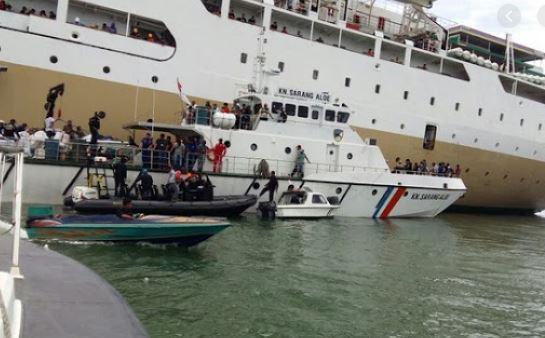 6.000 Turis Kapal Pesiar Mendadak Loncak ke air Setelah Mengetahui Ada Dua Turis Asal China