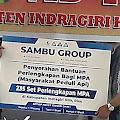 Sambu Group Beri Bantuan Perlengkapan untuk Masyarakat Peduli Api Inhil