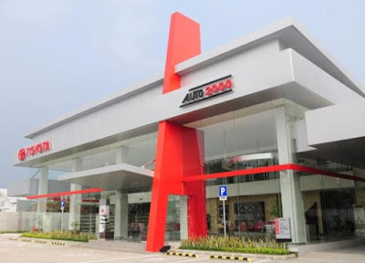 Fasilitas Ruang Tunggu Dealer Auto2000 Wiyung Surabaya