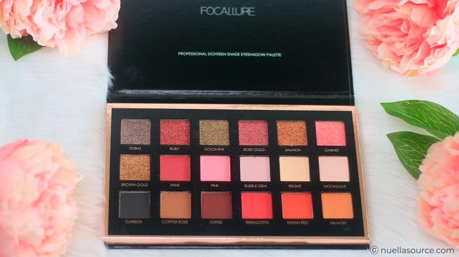 Focallure bright lux eyeshadow palette