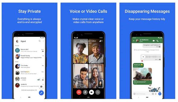 Aplikasi Perpesanan Signal, Fitur Mirip WhatsApp dan Mudah Digunakan