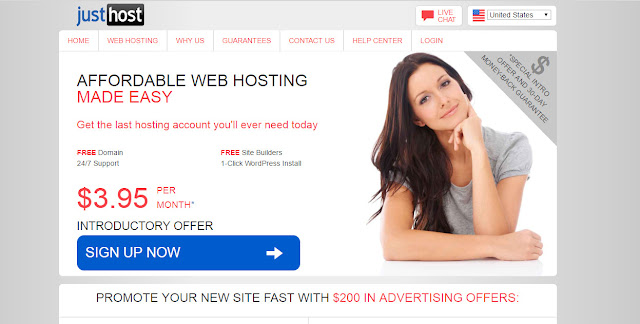 Justhost- Cheap web hosting company