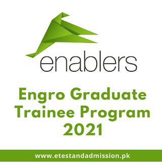 engro enablers graduate trainee program 2021