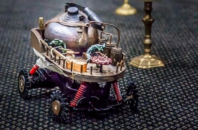 10 Contoh Foto Gambar Aliran Karya Seni Steampunk Keren Dan Unik