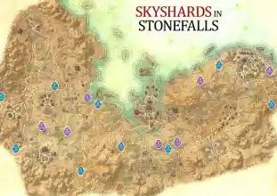 Stonefalls Skyshards, Elder Scrolls Online,Ebonheart Pact,