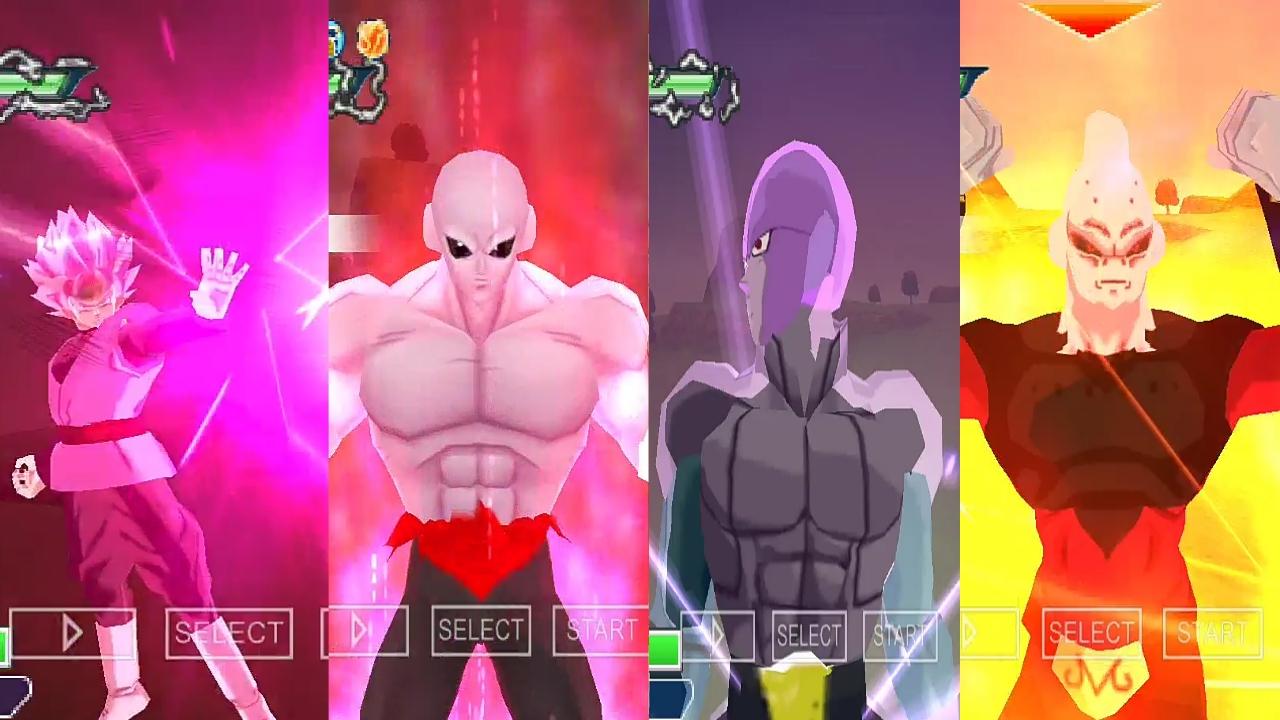 Dragon Ball Heroes Jiren, Black Goku and Hit