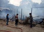 4 Rumah Hangus dan 2 Rusak Dalam Kebakaran di Desa Habeahan Naburahan
