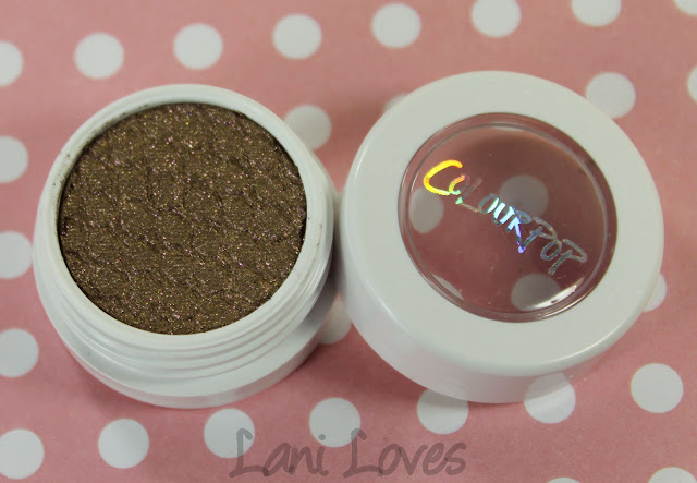 ColourPop Super Shock Shadows - So Quiche Swatches & Review