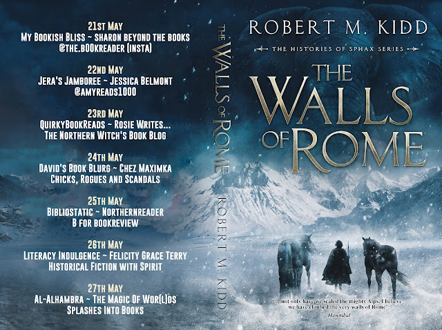 historical novels set in ancient Rome