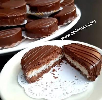 حلويات العيد/صابلي بريستيج القهوة محشو بحشوة لذيذةو معلكة