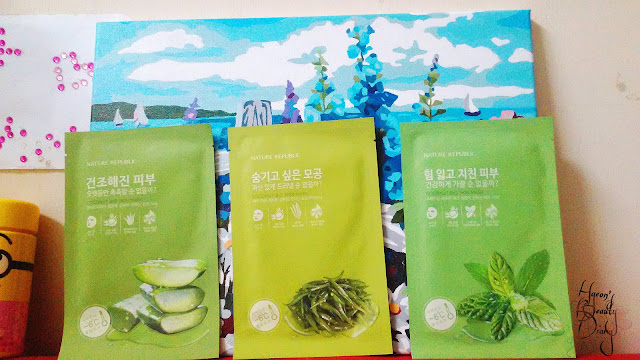 Review; Nature Republic's Coconut Bio Skin Mask (Moisture, Pore Care, Vital)