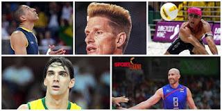 افضل خمس لاعبي الكرة الطائرة عبر التاريخ