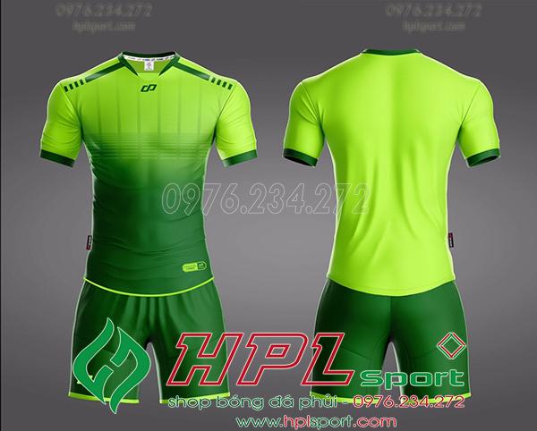 Áo bóng đá không logo Cp Cobat Màu Xanh Chuối