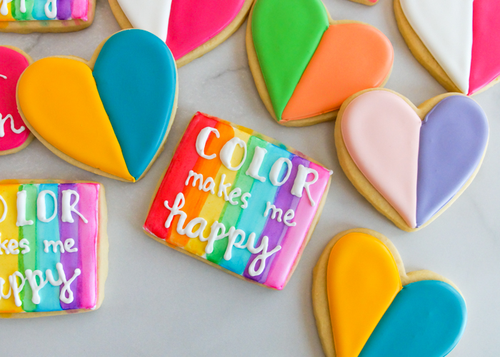 House of Colour Houston cookies
