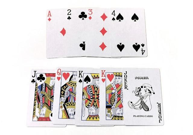 na zdjęciu karty funkcyjne ułożone w dwóch rzędach