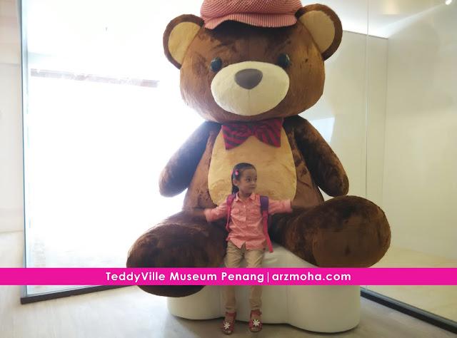 teddyville museum penang, museum teddy bear pertama di malaysia, tempat wajib dilawati, tempat menarik di malaysia, tarikan baru di pulau pinang, lokasi teddyville museum, teddy bear steiff,