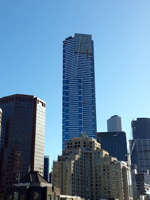 Eureka Tower in Melbourne Southbank