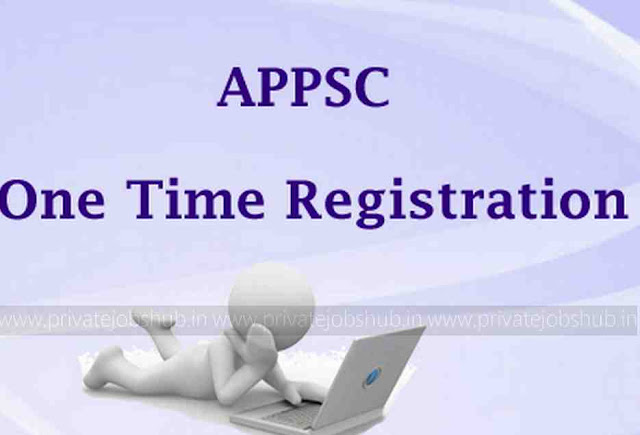 APPSC One Time Registration