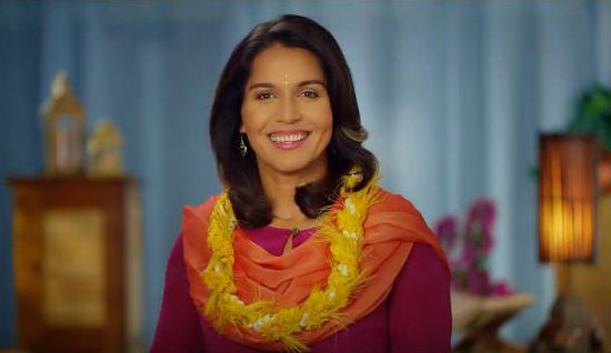 TULSI 2020 New Hampshire Tweeted: Aloha NH! She's back! Please join ...