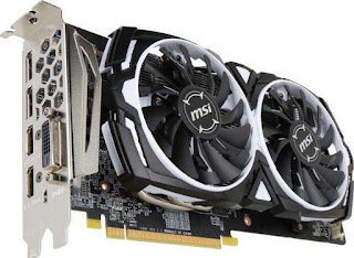 MSI VGA Graphic Cards RX 580 Armor 8G OC Drivers Download