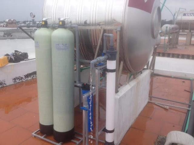 Bộ lọc nước giếng tại FLC Sầm Sơn