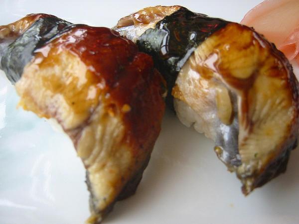 101 เมนูซูชิ ซูชิหน้าปลาอุนากิ (Unagi)