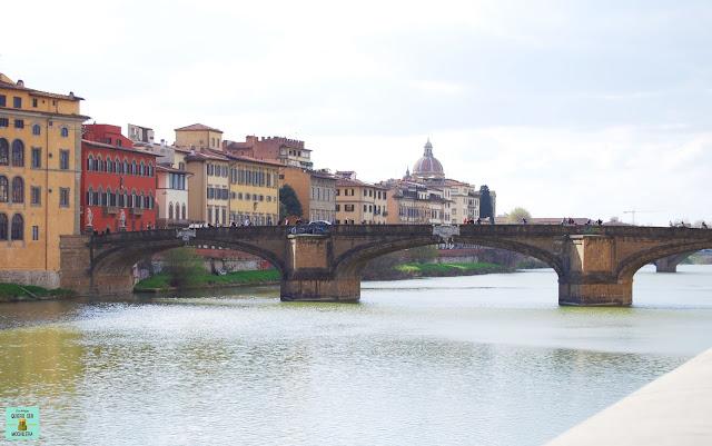 Ponte Santa Trinita en Florencia