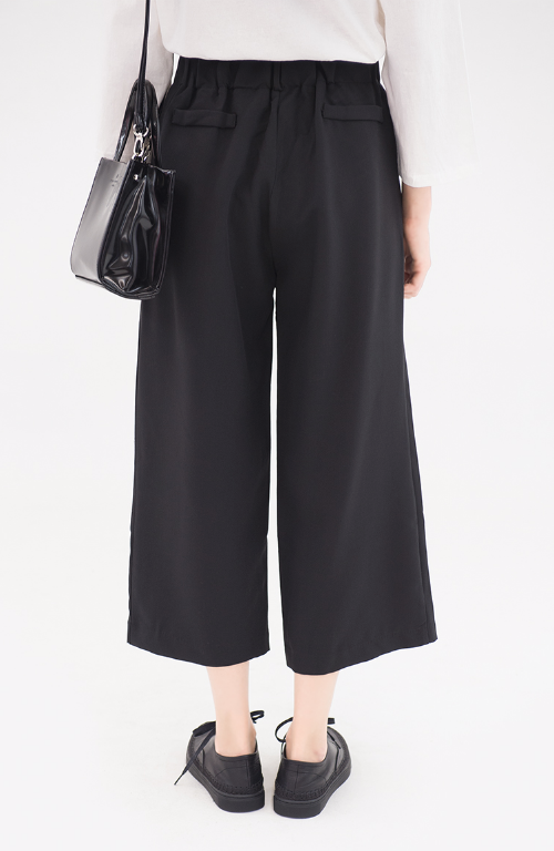 Flared Cropped Pants