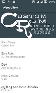 Custom Rom MT6572 JB 4.2.2 (Base Stockrom Evercoss A7T) Terbaru