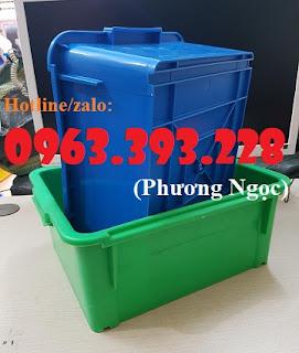 Thùng nhựa đặc A3, hộp nhựa công nghiệp, khay linh kiện 1bbff7de803c67623e2d