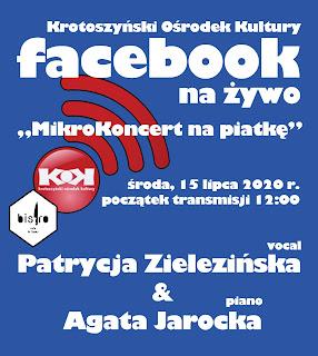 Posłuchaj na Fb zarejestrowanego koncertu