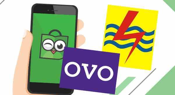 Beli pulsa PLN di tokopedia dengan OVO