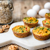 Recipe : Walnut Oat Crusted Veggie Egg Cups