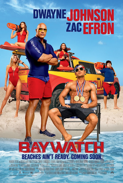 Baywatch Lifeguard Poster