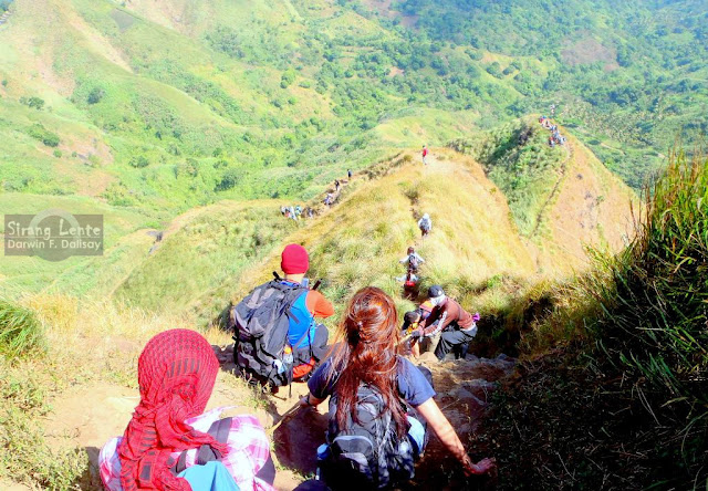 The trail of Mt. Batulao