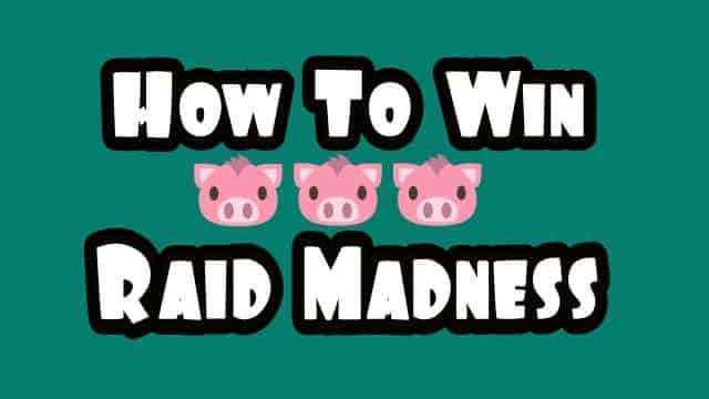 Raid Madness dans Coin Master - Liste des astuces et des récompenses de la semaine de relâche