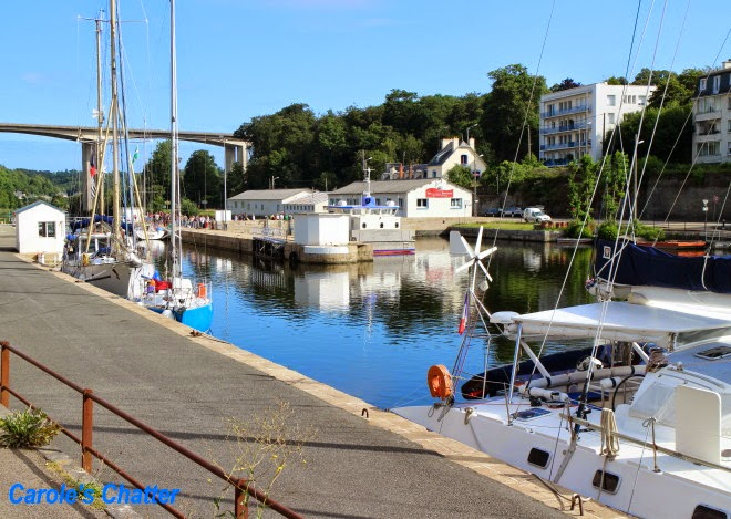Port, Morlaix by Carole's Chatter