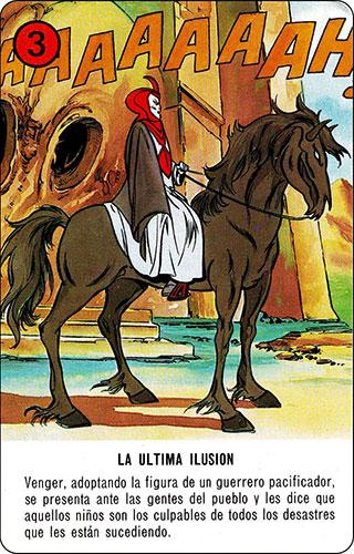 Baraja Dragones y mazmorras Heraclio Fournier Carta rojo 3