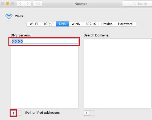 Add public DNS if you get iMessage activation error on Mac during Login