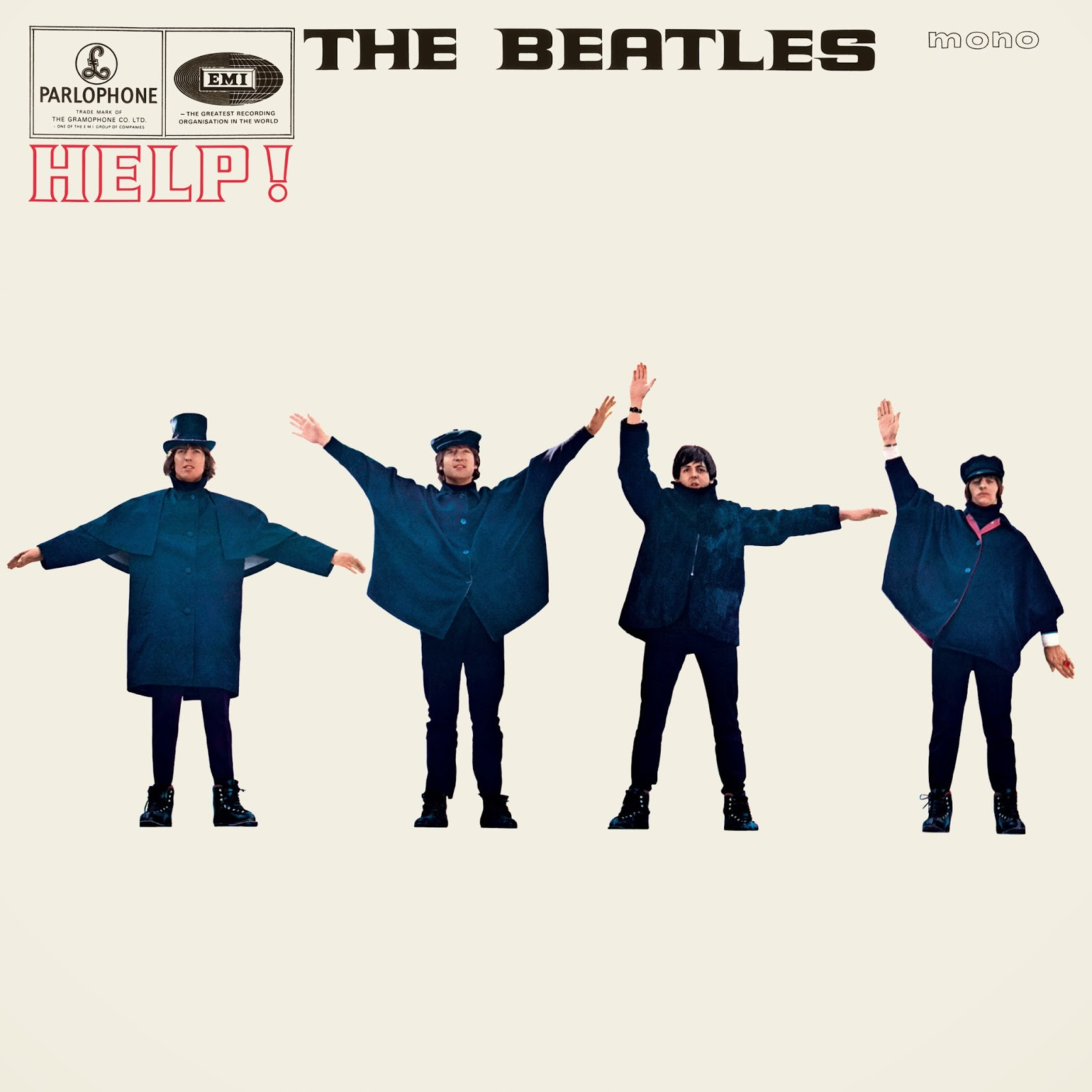 The Daily Beatle: Album covers: Help!
