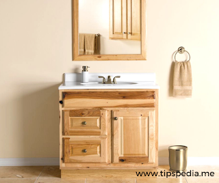 hickory bathroom cabinets