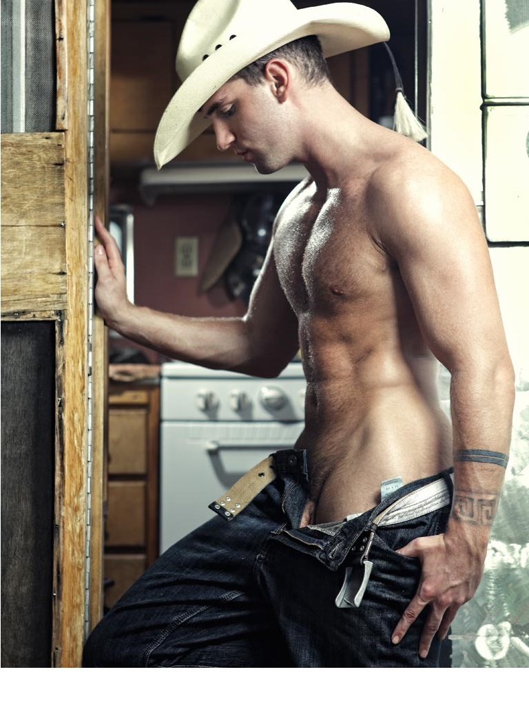 Sexy cowboys naked
